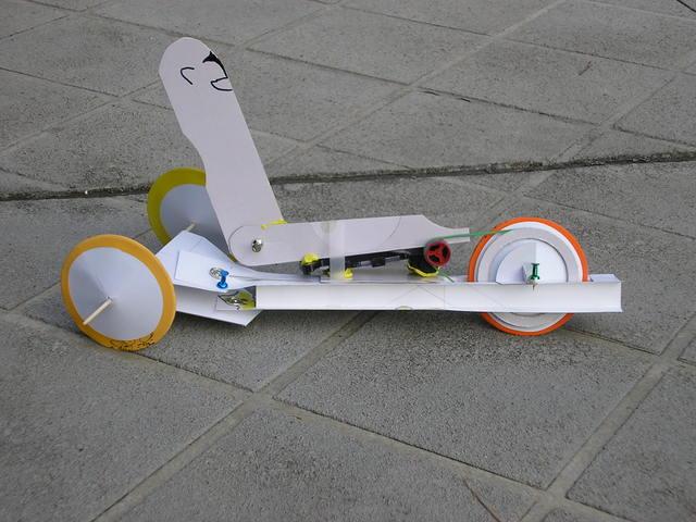 Experimental Delta Recumbent Trike