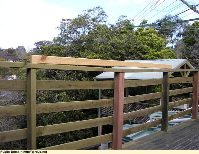 Jacking Up A Sagging Timber Deck